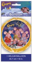 "Clangers 18"" Round Foil Balloon"